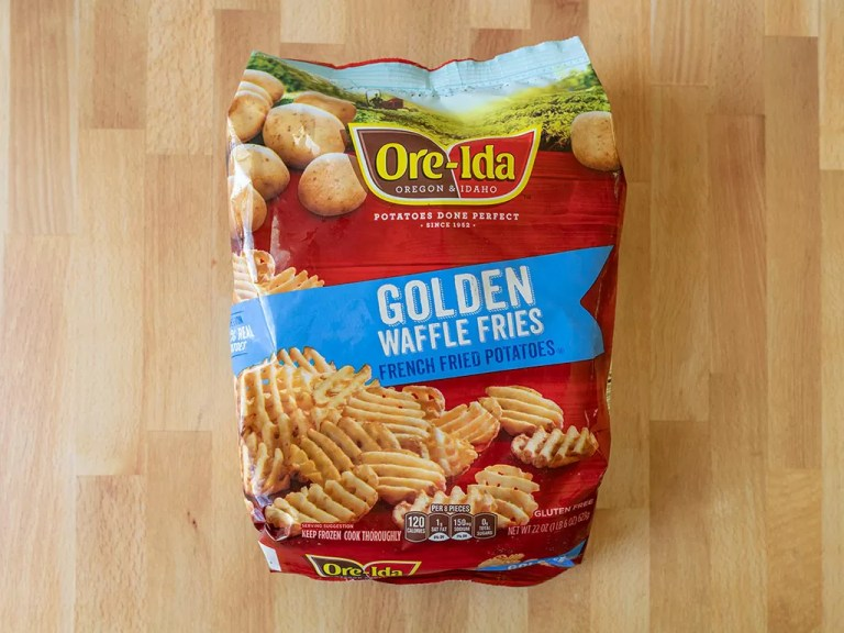 How to air fry Ore-Ida Golden Waffle Fries