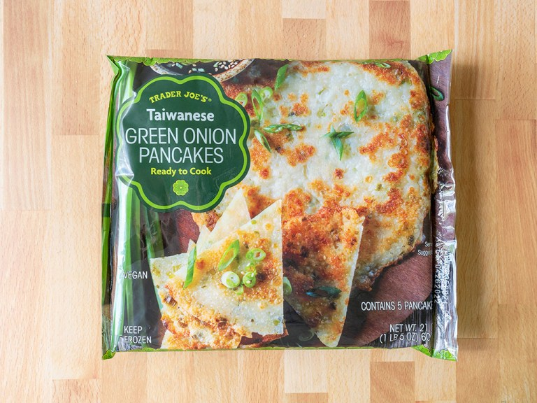 How to cook Trader Joe's Taiwanese Green Onion Pancakes in an air fryer