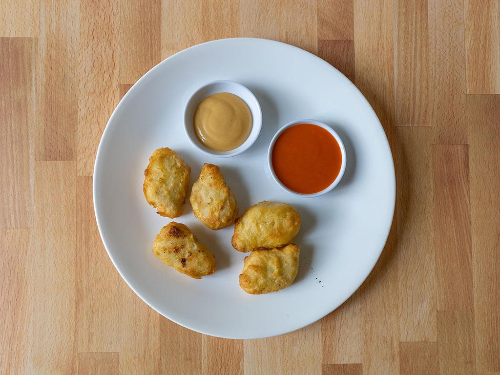 Air fried Pilgrim's Tempura Style chicken Nuggets
