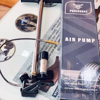 PCP Hand Pump 4500psi (300bar) With Dry Pack Assembly & Foldable Base