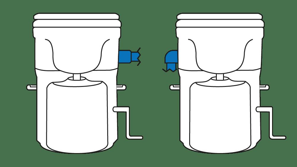 Vergleich Abluftschlauch