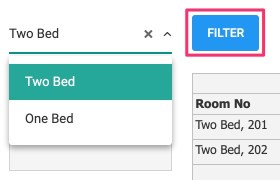 Filter by room type