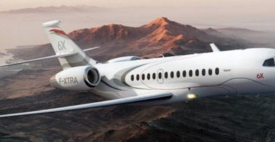 Falcon 6X Progressing towards 2021 First Flight
