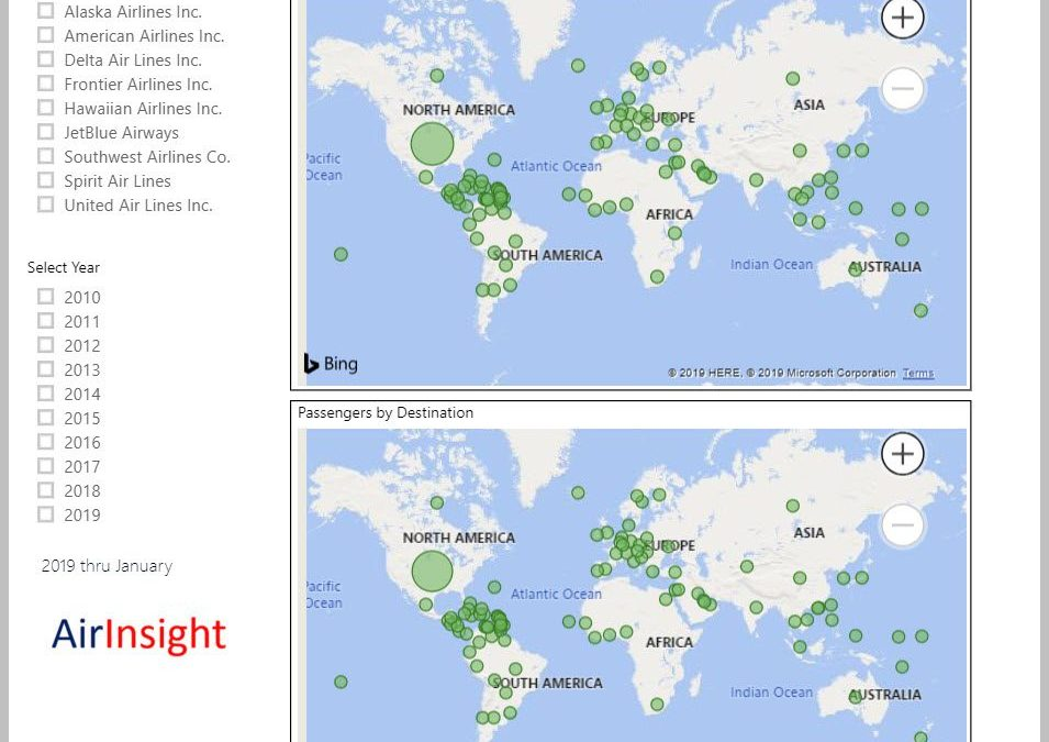 US Origin & Destination Traffic Update