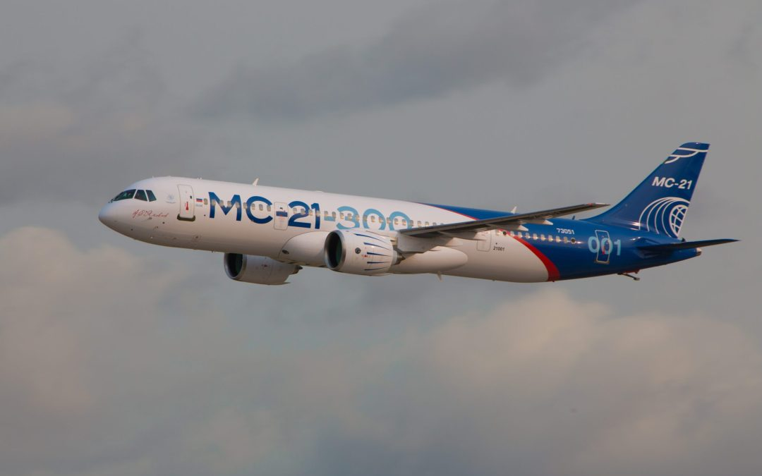 All eyes on the MC-21 at MAKS 2019