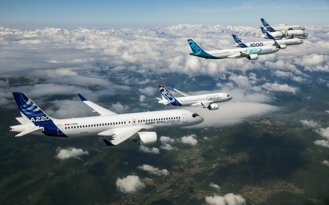 Airbus: market needs 39,210 new airliners