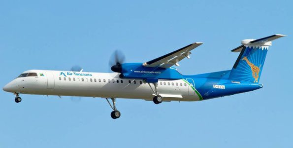 De Havilland Canada Books Its First Firm Order for Dash 8-400
