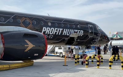 What is the challenge for Embraer's E2?