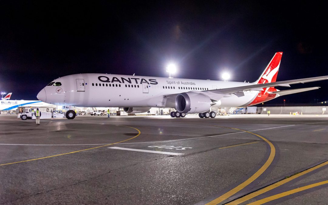 Qantas sees some light at the end of the tunnel