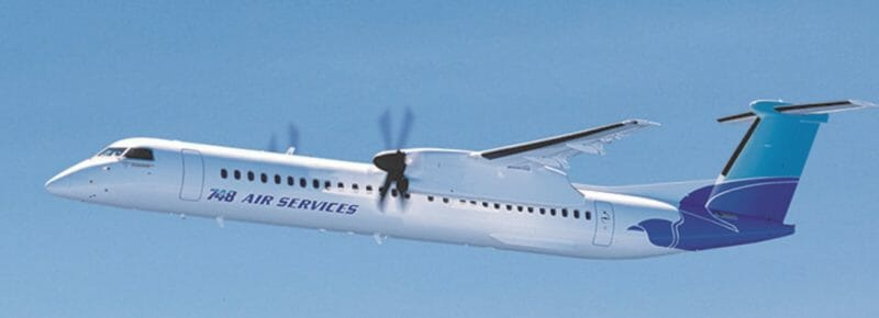 DeHavilland Canada offers Package Freighter Conversion Program for all Dash-8 models