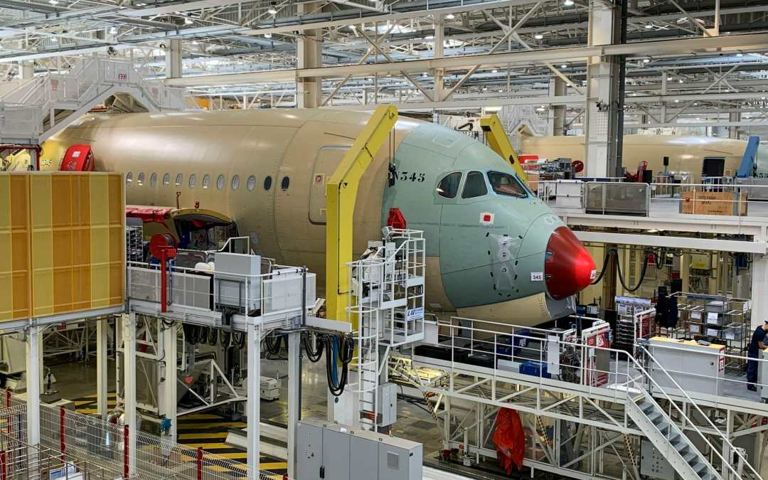 Airbus to slash 15.000 positions as production drops by 40 percent