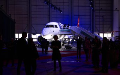 Helvetic goes big and opts for E195-E2