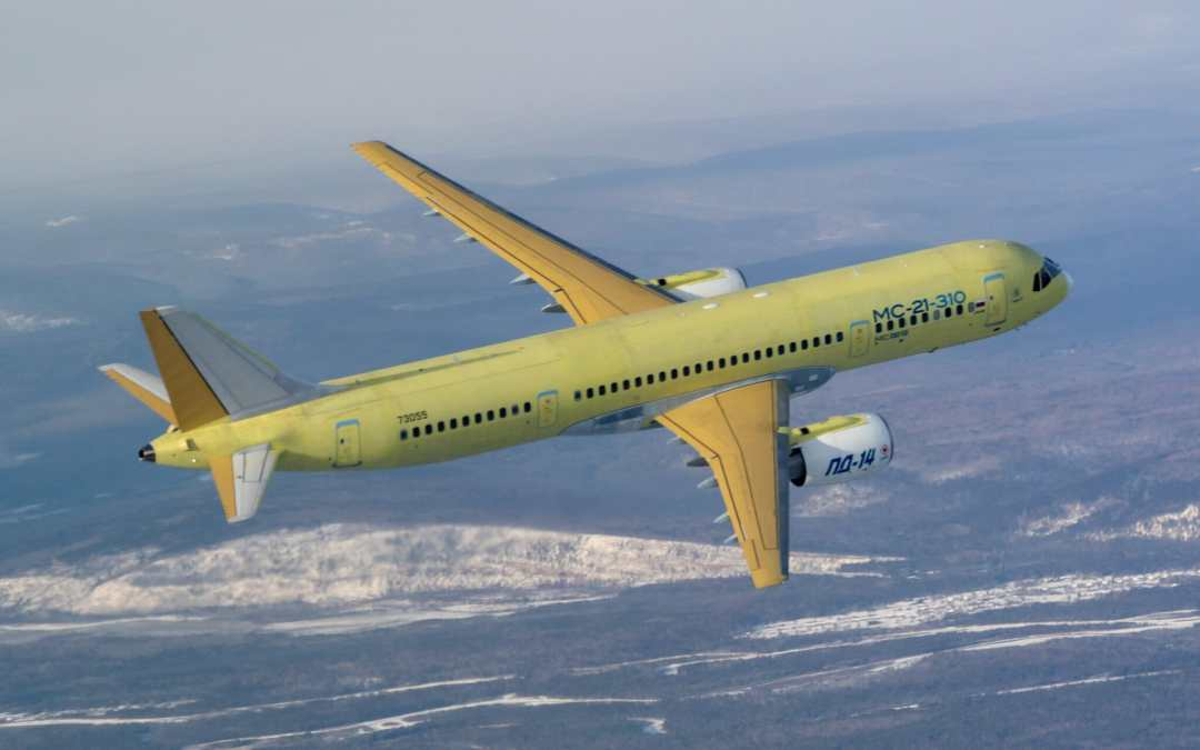MC-21 with Russian engines makes maiden flight