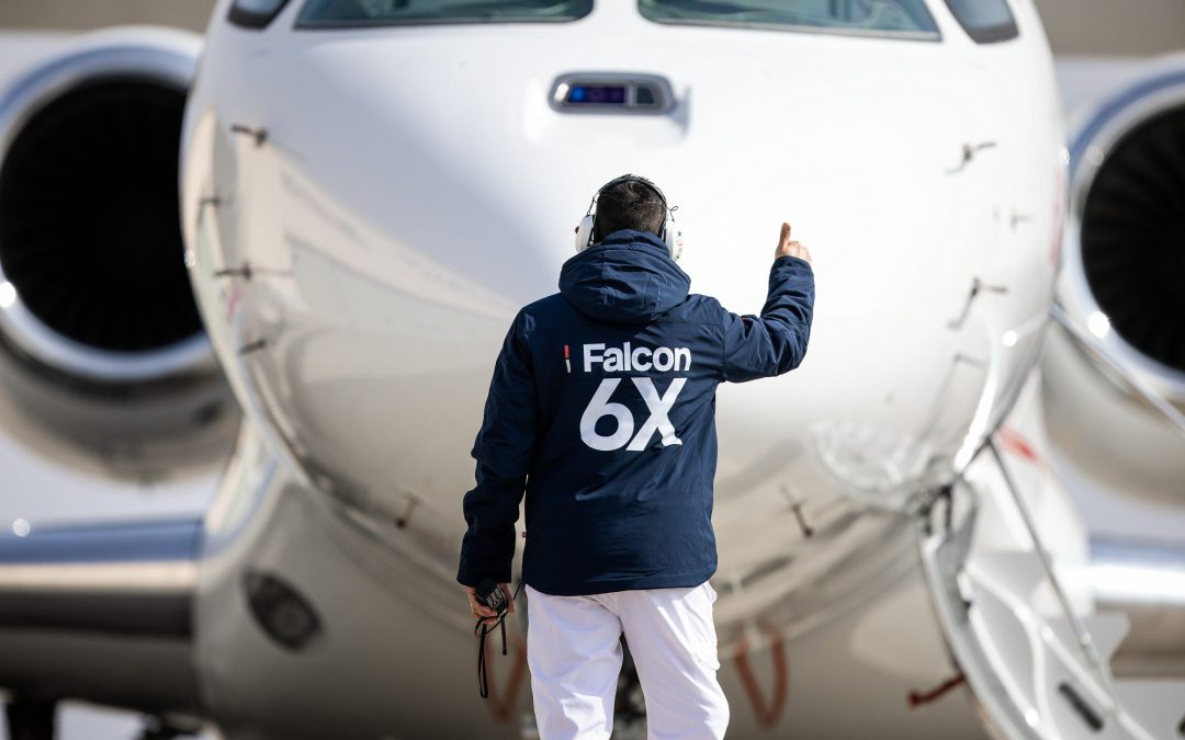 Dassault Falcon 6X Completes First Flight