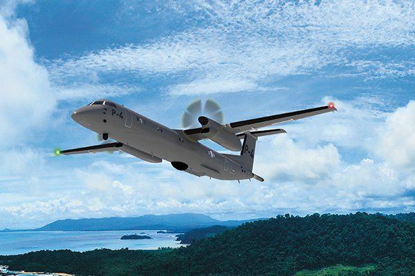 De Havilland Canada Dash-8 Special Missions P-4 aircraft