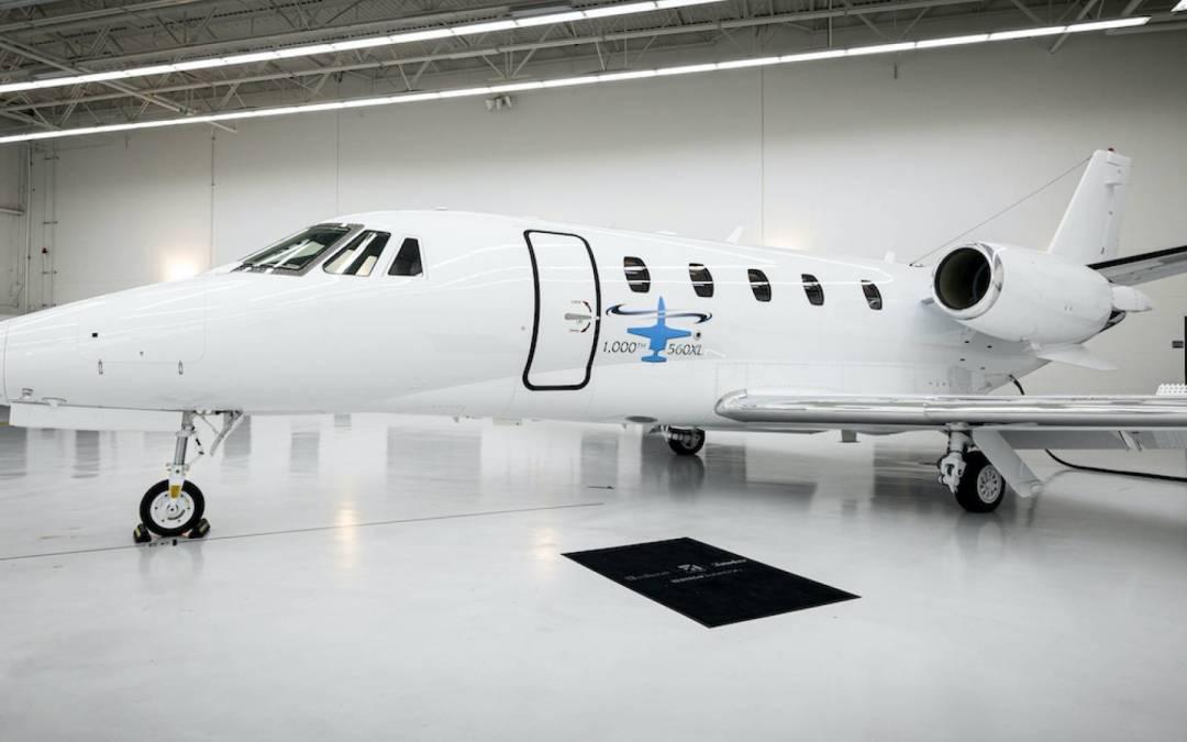 Textron Aviation Milestone – 1,000th Cessna Citation 560XL Delivered