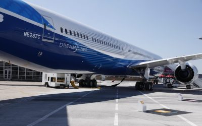 787 delivery pause costs Boeing revenues