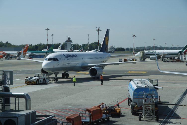 Lufthansa Airbus A320ceo Milan Linate