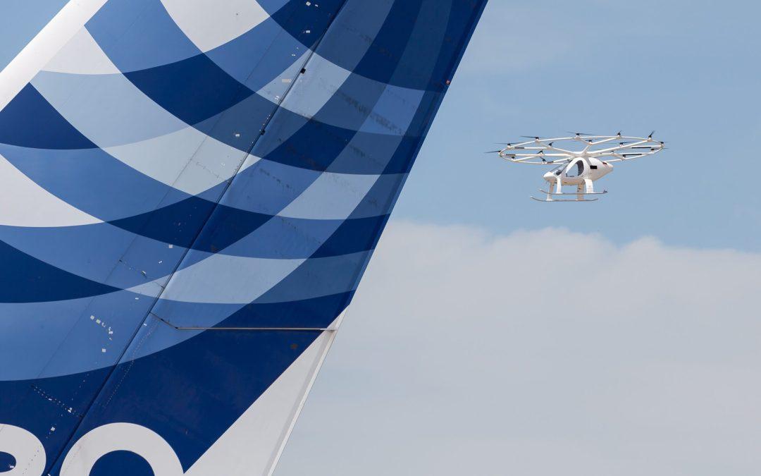 Volocopter demonstrates capabilities in Paris