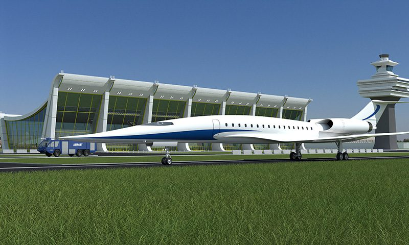 Japan wants to have a role in a Supersonic Transport
