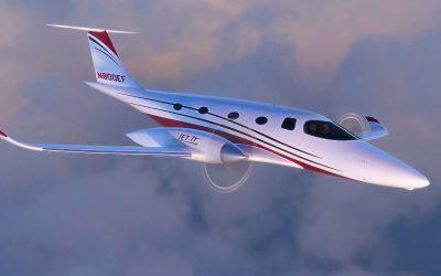 JetClub launches Bye's biggest eFlyer 800