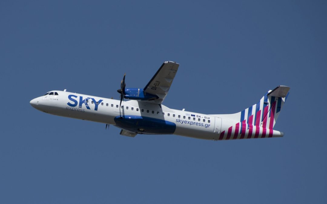 Fast-growing SKY Express buys more ATR 72-600s