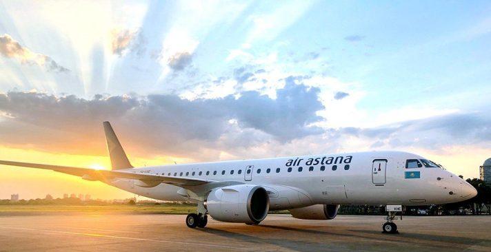 Embraer E190-E2 Air Astana