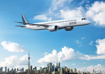 Porter Airlines acquiring up to 80 Embraer E195-E2s