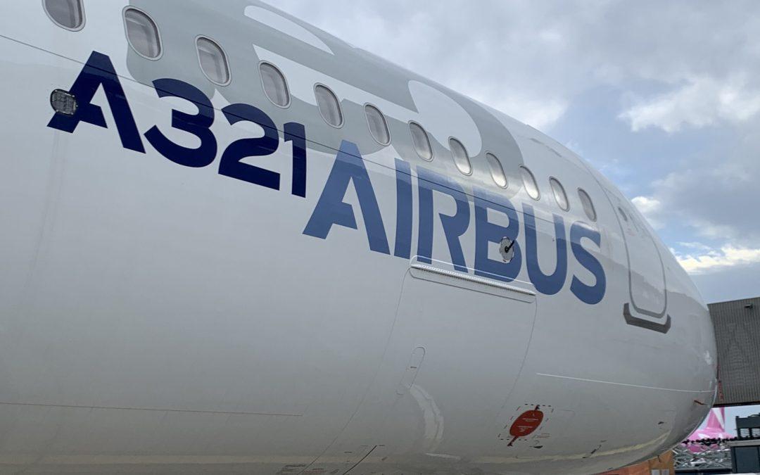 A321XLR test campaign includes three aircraft