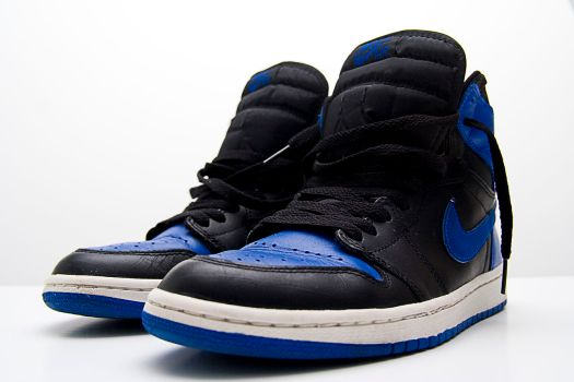 Air Jordan I (Blue/Black Colorway)