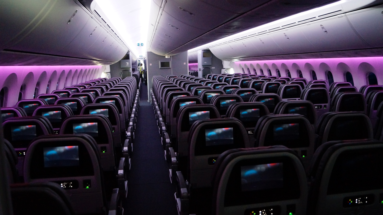 First Look Inside American S 787 9 Dreamliner