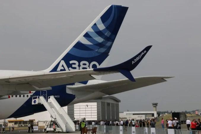 Airbus Paris Air Show a380