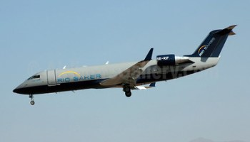 West Atlantic's CRJ200 SE-DUX crashes in the border region