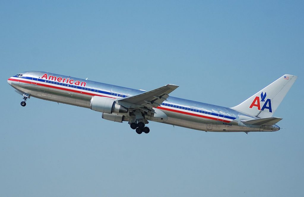 American Airlines Fleet Boeing 767 300 Details And