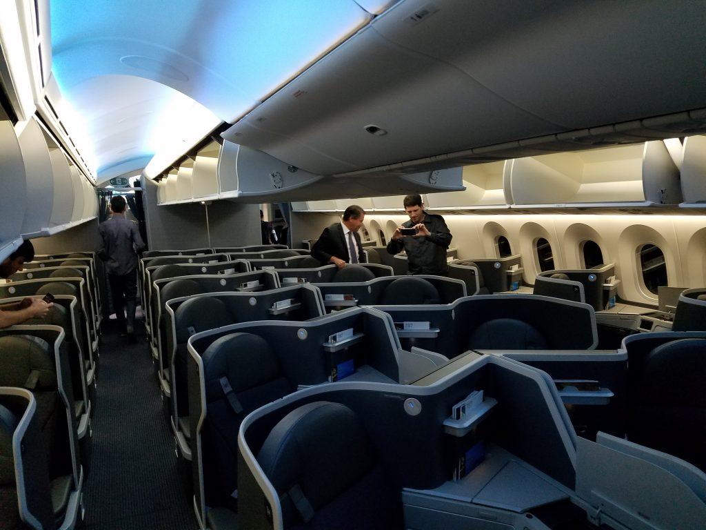 American Airlines Fleet Boeing 787 9 Dreamliner Details