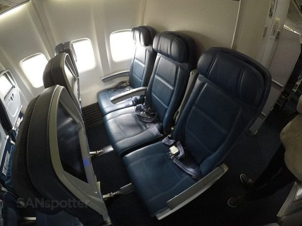 Delta Air Lines Boeing 757 300 Economy Class