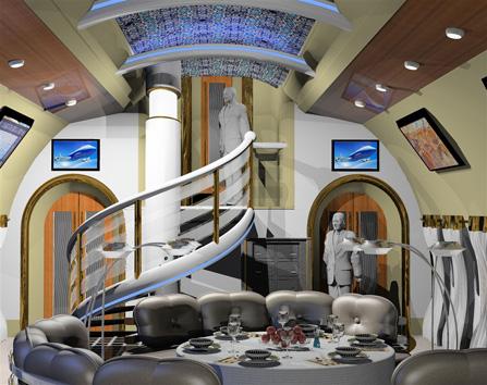 Interior Airline World