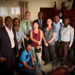 GoDocs team and Nobel Peace Prize winner Dr. Mukwege in the DRC.