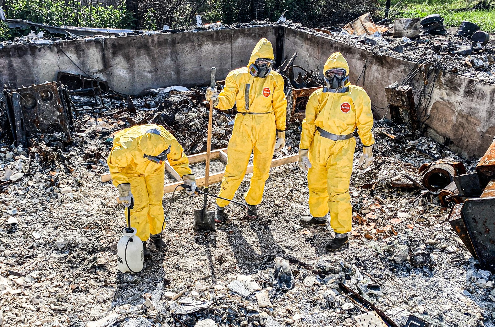 Team Rubicon British Columbia Wildfires 2021