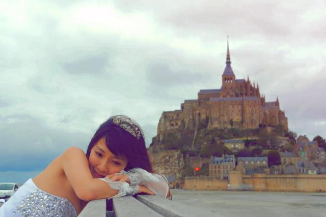 Airly devant le Mont Saint Michel