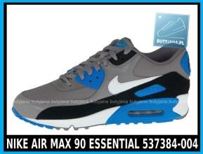 NIKE AIR MAX 90 ESSENTIAL 537384-004 szare,czarne, niebieskie w cena 380 zł, przesyłka gratis 2