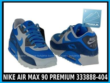 Niebieskie NIKE AIR MAX 90 PREMIUM 333888-404 4