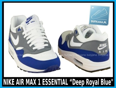 NIKE AIR MAX 1 ESSENTIAL 537383-414 Deep Royal Blue 4