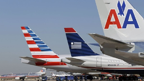 US Air American Tails