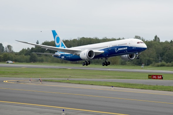 787-9 First Flight Event