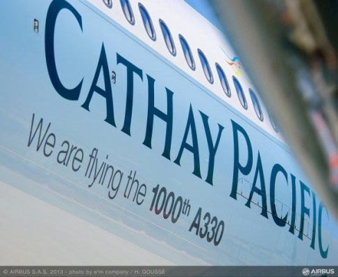 Cathay Pacific Airbus A330