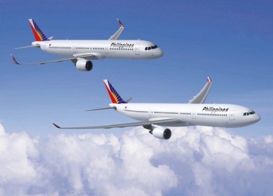 Philippine Airlines Airbus A321 and A330