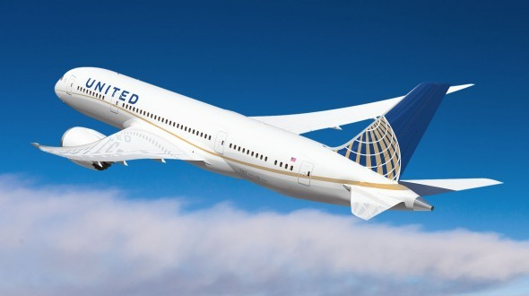 United Airlines Boeing 787 Livery