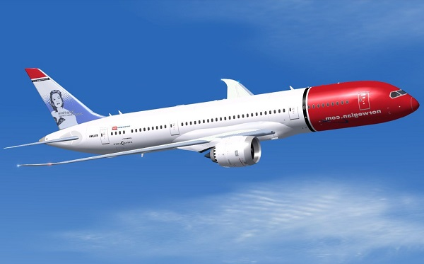 Norwegian Air 787