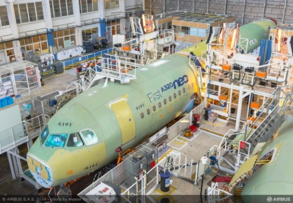Airbus A320neo Final Assembly